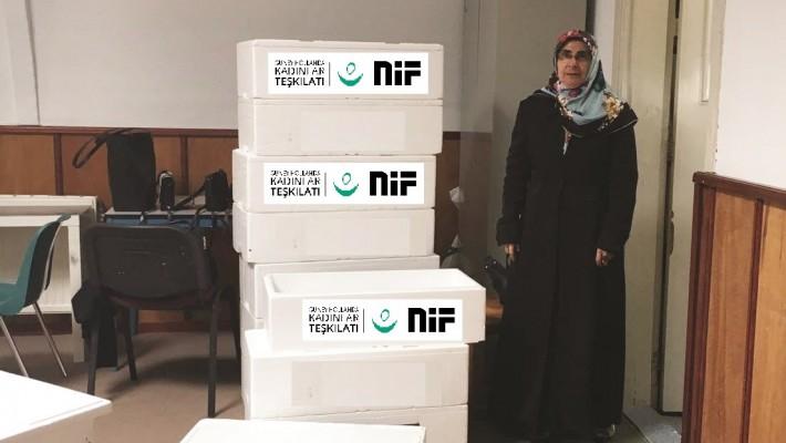 NIF Kadınlar Teşkilatı'ndan Islahevine Ziyaret