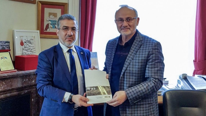 Yeni Din İşleri Müşaviri Prof.Dr. Yavuz Ünal'a Nezaket Ziyareti