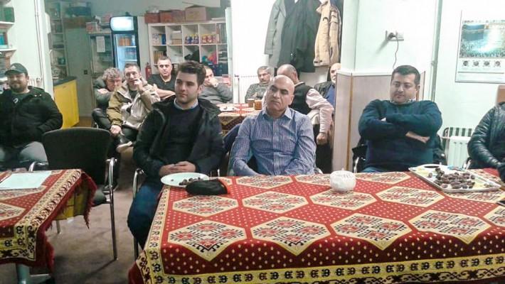 Eindhoven Yunus Emre Camimizin üyeler toplantısı gerçekleştirildi