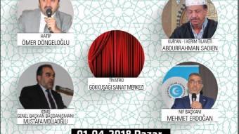Alemlere Rahmet Hz. Muhammed (SAV) Anma Programı – Oss/Hollanda