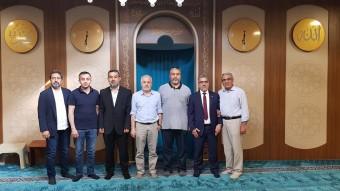IGMG Teşkiatlanma Başkan Yardımcısı Mehmet Şenel bey ve  IGMG Australya Bölge Başkanımız Ramazan Otkun bey den Bölgemize ziyaret