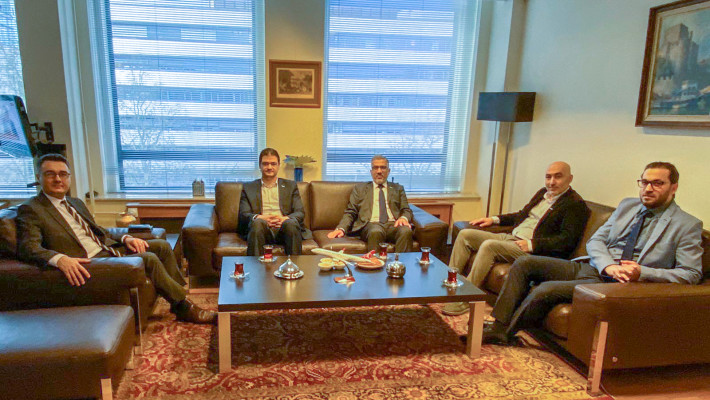 T.C. Rotterdam Başkonsolosluğu ziyareti